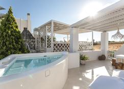 Aeolos Luxury Villas & Suites - Agkidia - Piscina