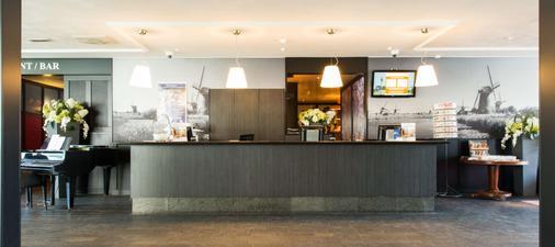 Best Western Plus Amsterdam Airport Hotel - Hoofddorp - Front desk
