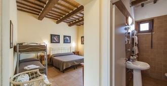 Villa Tuscany Siena - סיינה - חדר שינה