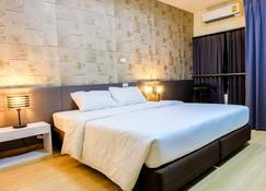 Prajaktra City Hostel - Udon Thani - Yatak Odası