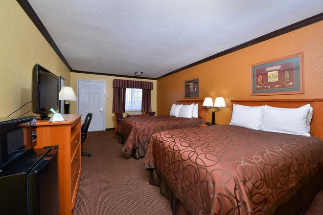 Americas Best Value Inn Center - Center - Schlafzimmer