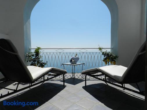 Hotel Holiday - Praiano - Balcony