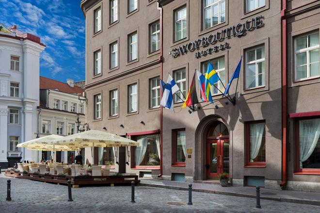Savoy Boutique Hotel by TallinnHotels - Tallín - Edificio