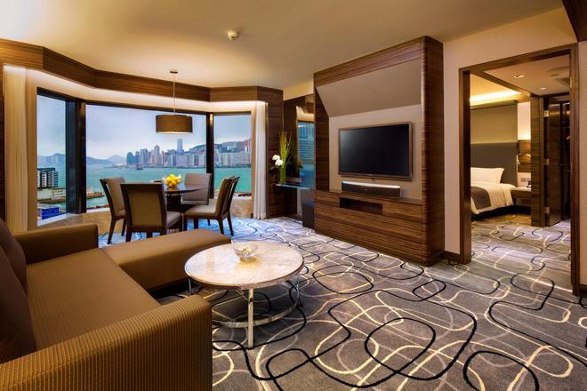 New World Millennium Hong Kong Hotel - Hong Kong - Living room
