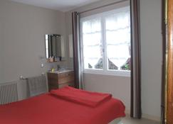 House in Balearic resort at 900 m. from the beach and shops - Jullouville - Bedroom