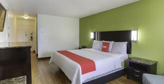國王飯店 - 拉斐特(路易斯安那州) - 臥室