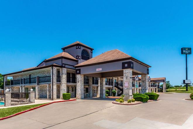 Quality Inn I-10 East Near Att Center - San Antonio - Rakennus