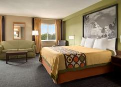 Super 8 by Wyndham Sioux Falls - Sioux Falls - Bedroom