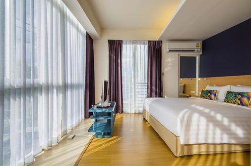 曼谷索羅快捷酒店 - 曼谷 - 曼谷 - 臥室