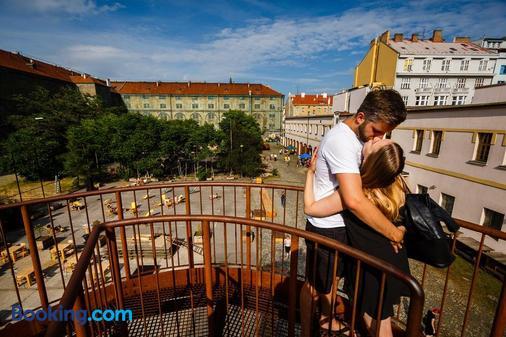 Hostel Florenc - Praha (Prague) - Ban công