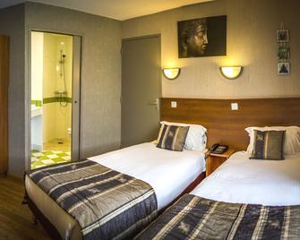 Brit Hotel Azur - Cholet - Sèvremoine - Schlafzimmer