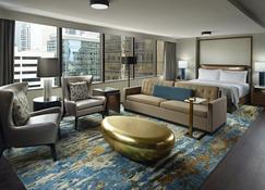 Omni Charlotte Hotel - Charlotte - Phòng ngủ