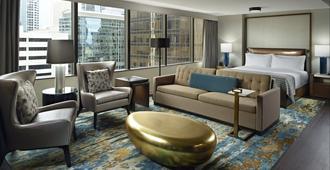 Omni Charlotte Hotel - שרלוט - חדר שינה