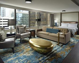 Omni Charlotte Hotel - Charlotte - Soveværelse