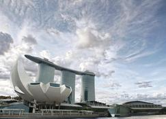 Marina Bay Sands - Singapore - Outdoor view