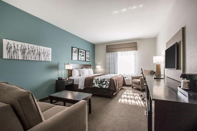 斯利普酒店 - 美里迪安 - 子午線城 - 臥室