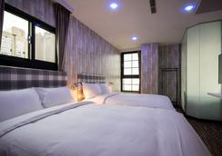 Double Pretty Hotel - Taichung - Bedroom