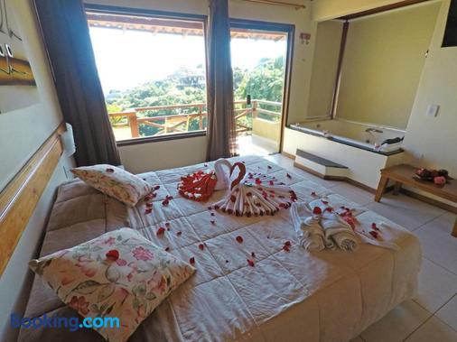 安曼凱旅館 - Buzios (布基亞斯濱海碼頭) - 布希奧斯 - 臥室
