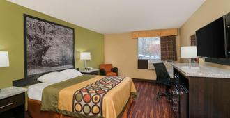 Super 8 by Wyndham Raleigh North East - Raleigh - Bedroom