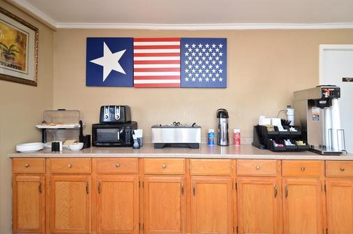 Americas Best Value Inn Crosstimbers - Stephenville - Buffet