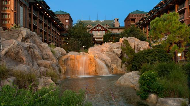 Disney's Wilderness Lodge - Lake Buena Vista - Building
