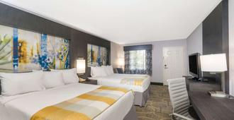 Days Inn by Wyndham Asheville Downtown North - Asheville - Phòng ngủ