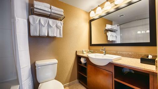 貝斯特韋斯特市中心普拉斯套房酒店 - 卡加立 - 卡爾加里 - 浴室