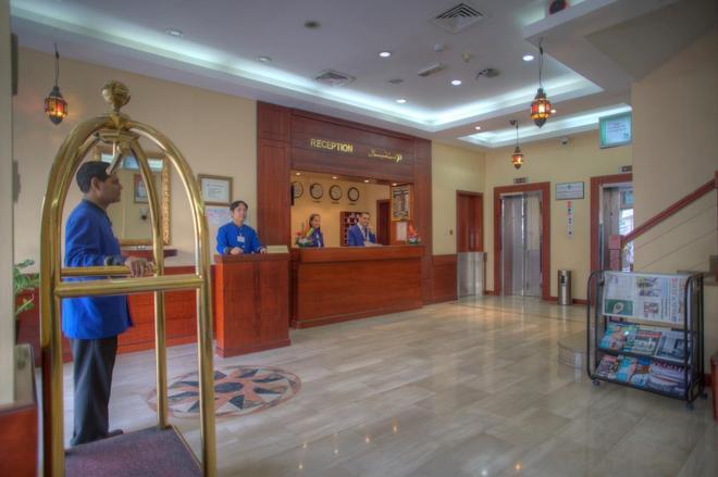 Al Diar Mina Hotel - Abu Dhabi - Front desk