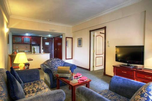 阿爾達爾米娜酒店 - 阿布達比 - 阿布達比 - 客廳