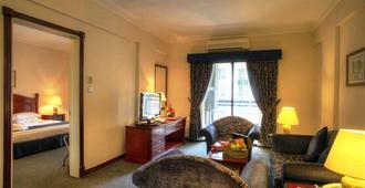 Al Diar Mina Hotel - Abu Dhabi - Living room