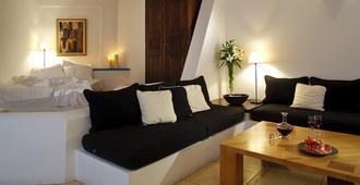 Tamarix Del Mar Suites - Kamari - Sala de estar