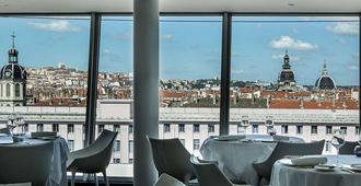 索菲特里昂貝勒庫爾酒店 - 里昂 - 里昂 - 餐廳
