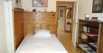 Big 2 Room Apartment with Balcony - דיסלדורף - חדר שינה
