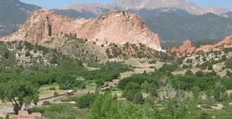 Holiday Inn Express & Suites Colorado Springs North - Колорадо-Спрингс - Вид снаружи
