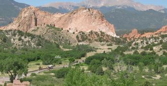 Holiday Inn Express & Suites Colorado Springs North, An IHG Hotel - קולרדו ספרינגס - נוף חיצוני