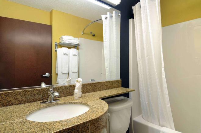 Microtel Inn & Suites by Wyndham Columbus/Near Fort Benning - Columbus - Bathroom