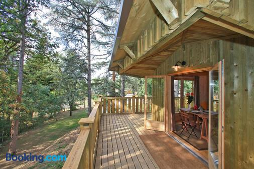 Albirondack Park Camping Lodge And Spa - Albi - Balcony