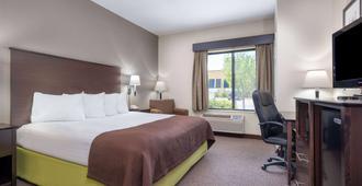 AmericInn by Wyndham Rochester Airport - Rochester - Bedroom