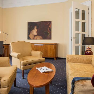 Falkensteiner Hotel Grand Medspa Marienbad - Mariánské Lázně - Living room
