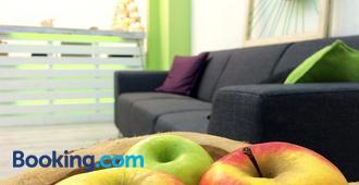 3 Äpfel Design Apartments - Essen - Living room