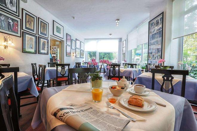 寧芬堡城市酒店 - 慕尼黑 - 慕尼黑 - 餐廳