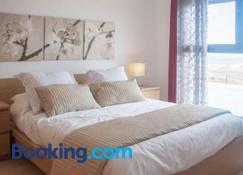 Caleta Grandes Vistas Triplex - Caleta de Fuste - Yatak Odası