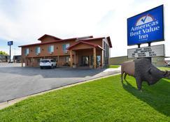 Americas Best Value Inn Wall - Wall - Building