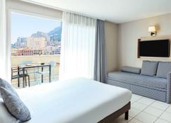 Aparthotel Adagio Monaco Monte-Cristo - Beausoleil - Makuuhuone