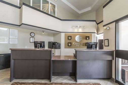 Comfort Inn - Huntsville - Front desk