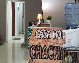 Casa Hotel Chachajo - Quibdó - Front desk