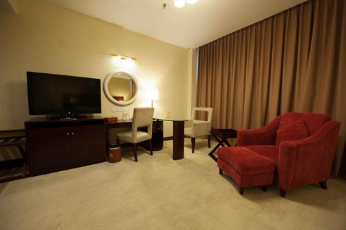 Gaya Centre Hotel - Kota Kinabalu - Living room