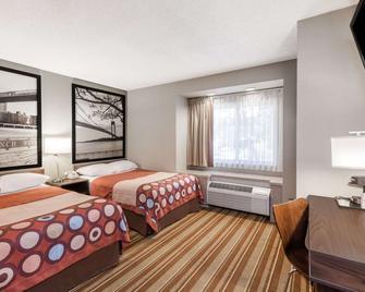 Super 8 by Wyndham Schenectady/Albany Area - Schenectady - Bedroom