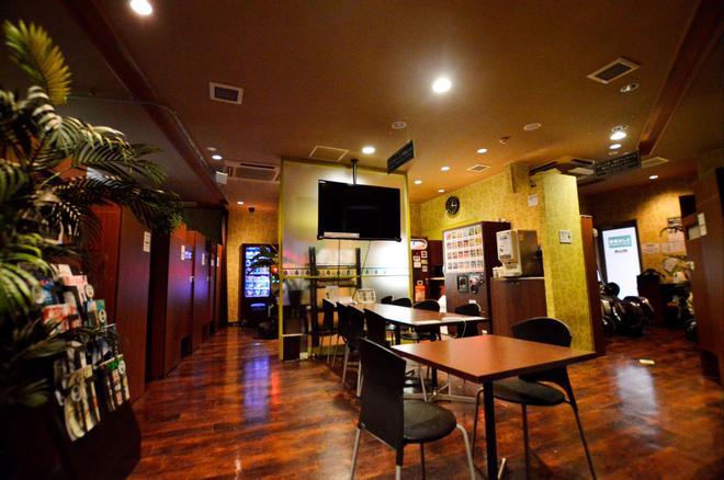 Capsule Hotel Anshin Oyado Shinbashi - Tokio - Restaurante