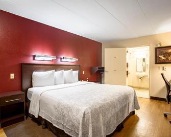 Red Roof Inn Plus+ Chicago - Willowbrook - Willowbrook - Спальня